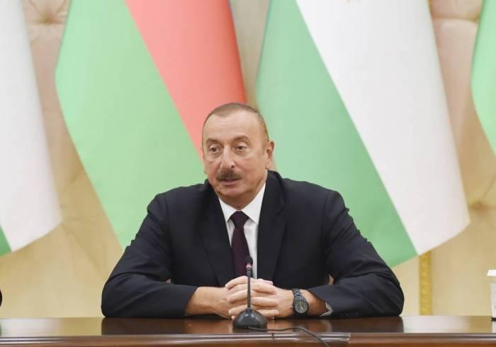 Armenia no cumple las decisiones de las organizaciones internacionales - Ilham Aliyev