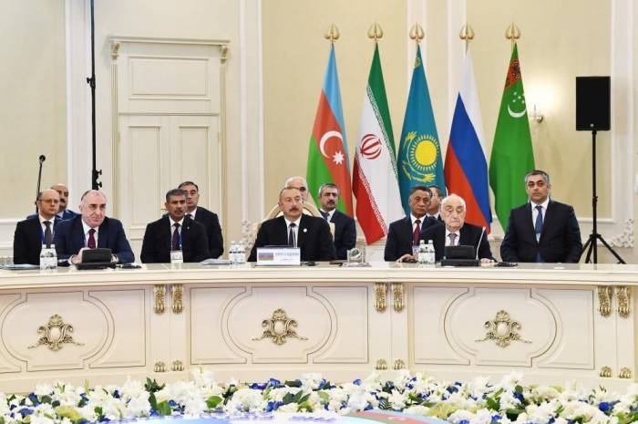 5th Summit of Heads of State of Caspian littoral states held in Aktau - PHOTOS