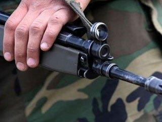 Soldat der aserbaidschanischen Armee als Folge der armenischen Provokation verletzt