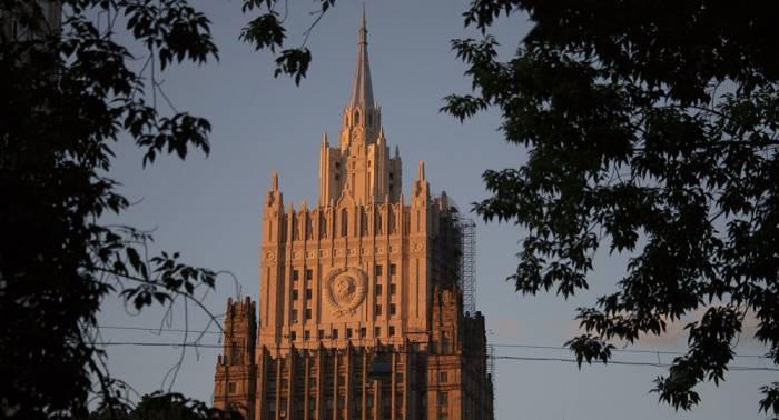 Moscú advierte que las sanciones de EEUU amenazan la Convención sobre las Armas Químicas