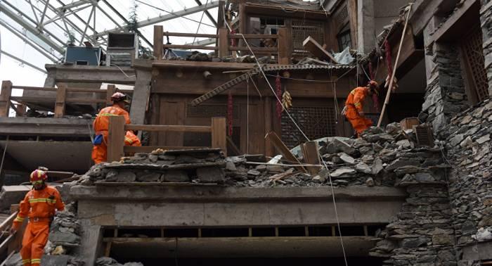 Numerosos heridos por dos terremotos en China