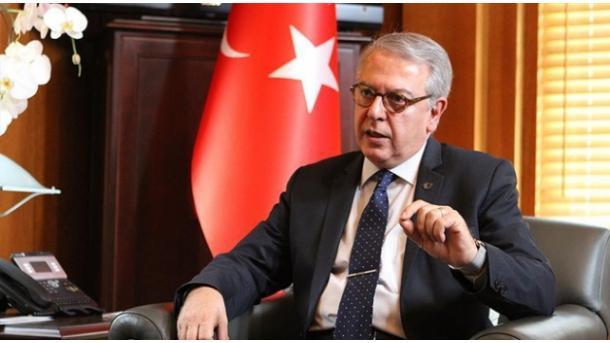 El embajador turco en EEUU se reúne con el asesor de seguridad de Trump