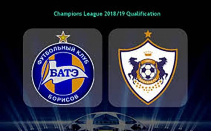 UEFA Champions League: Karabach trifft heute auswärts auf BATE