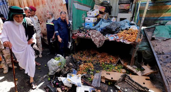 Muertos y heridos por explosión en un mercado cerca de Bagdad