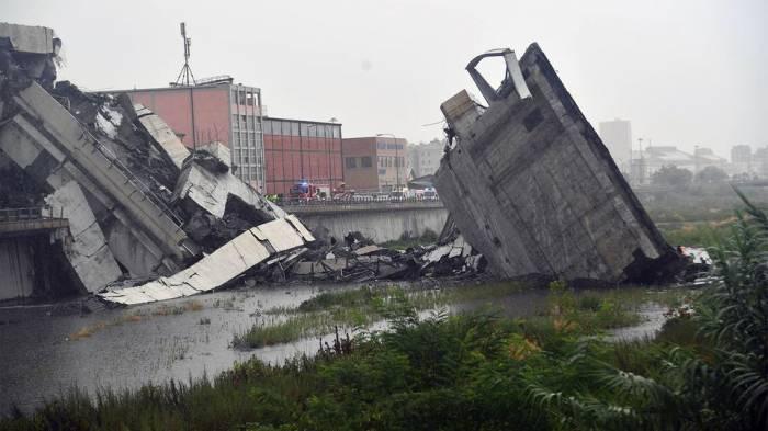 Kein Aserbaidschaner unter Opfern beim Einsturz vonAutobahnbrücke in Genua, Italien