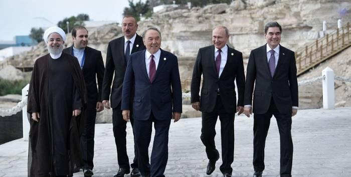 """Kaspisches Meer sei ein """"Meer der Kooperation, nicht der Konkurrenz"""""""