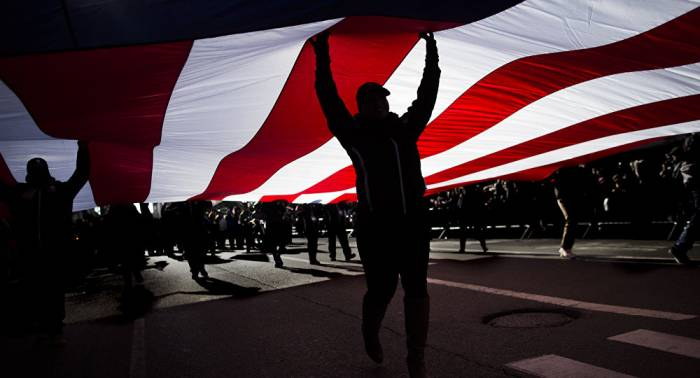 """Umfrage: Fast 30 Prozent der US-Bürger sehen Medien als """"Feind des Volkes"""""""