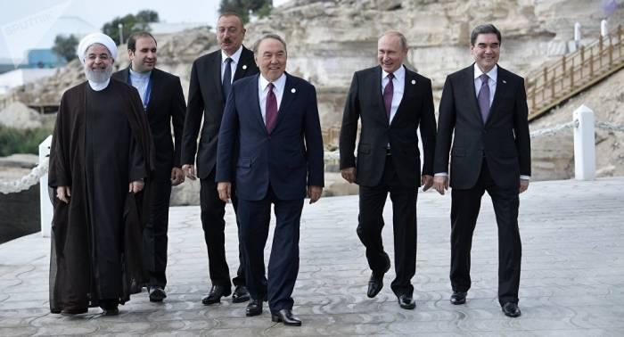 Kaspi-Anrainerstaaten-Konvention bricht wirtschaftliche US-Blockade Irans