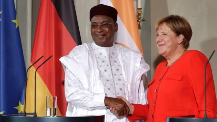 Merkel sagt Niger Hilfe zu