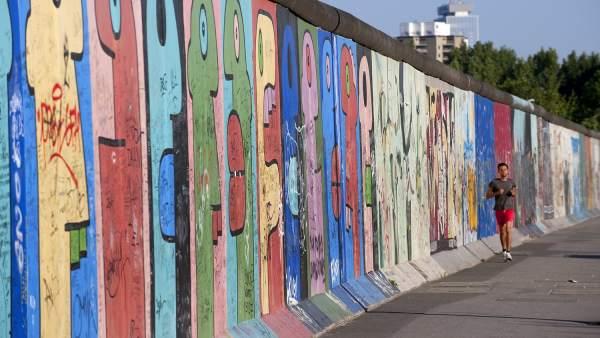 Descubren un nuevo fragmento oculto del Muro de Berlín