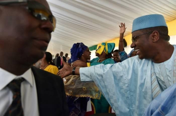 El presidente Ibrahim Boubacar Keita, reelegido para un nuevo mandato en Malí