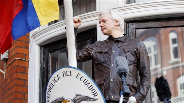 Julian Assange cumple seis años en la embajada de Ecuador en Londres