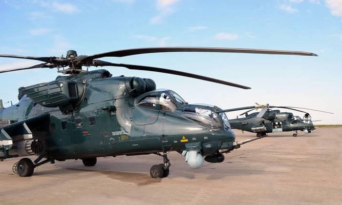 Helikopterlərin taktiki-uçuş məşqləri keçirilib - FOTOLAR