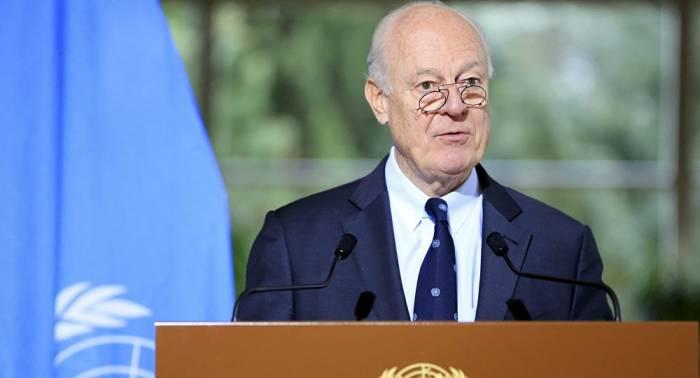 Oficina de De Mistura confirma su reunión sobre Siria para septiembre