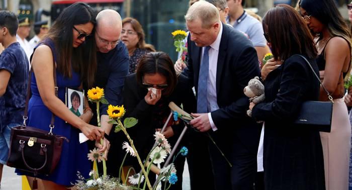 Portugal recuerda a las víctimas de los atentados en Barcelona