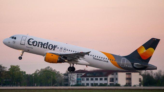 Condor-Maschine ist zurück in Deutschland