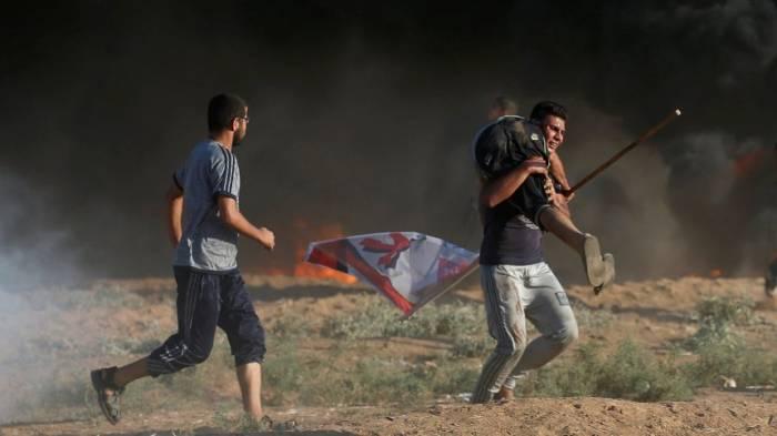 Gewaltsame Proteste undTote am Gazastreifen