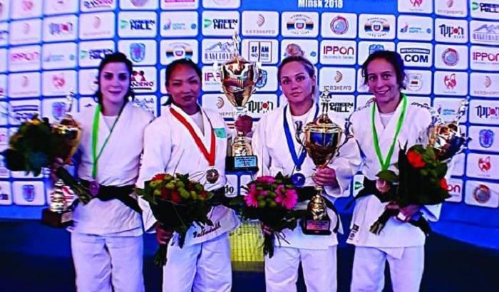 Cüdoçumuz Minskdə bürünc medal qazanıb