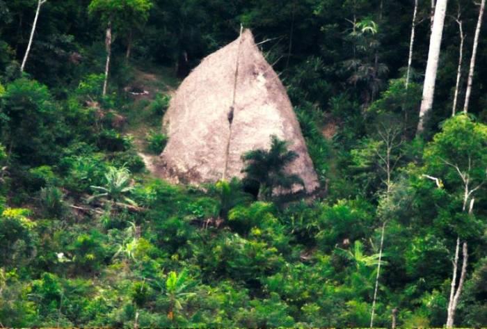 Drones captan la presencia de indígenas aislados en la Amazonía brasileña