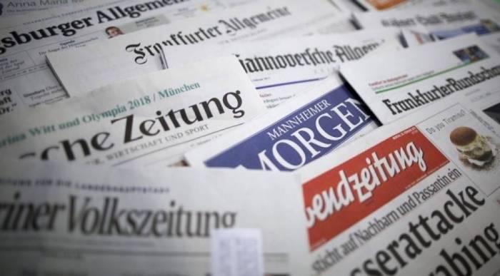 Alman jurnalist Bakıda özünü gülünc vəziyyətə saldı