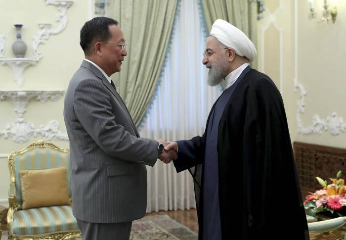 Şimali Koreyadan İrana siyasi dəstək