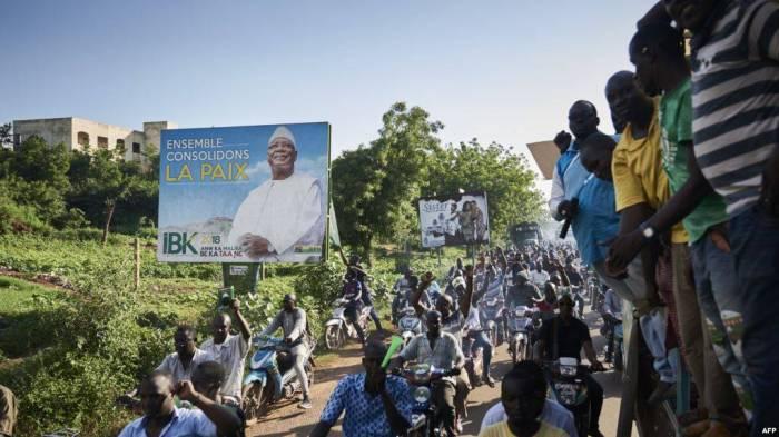 Mali : manifestation contre la réélection de Keïta