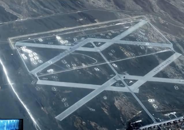 """Google-Karte deckt """"Geheimstützpunkt"""" in Gobi-Wüste auf – VIDEO"""