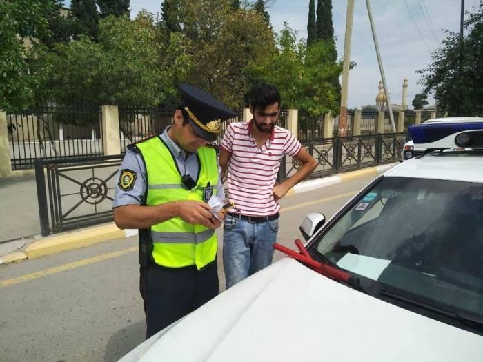 Yol polisi Şirvanda reyd keçirib