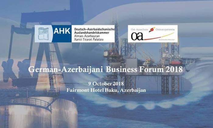 Bakıda Alman-Azərbaycan biznes forumu keçiriləcək