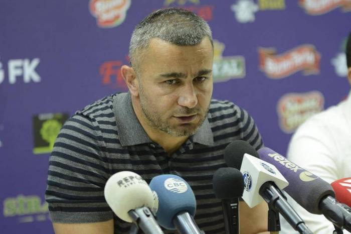 """""""Futbolçularımla fəxr edirəm"""" - Qurban Qurbanov"""