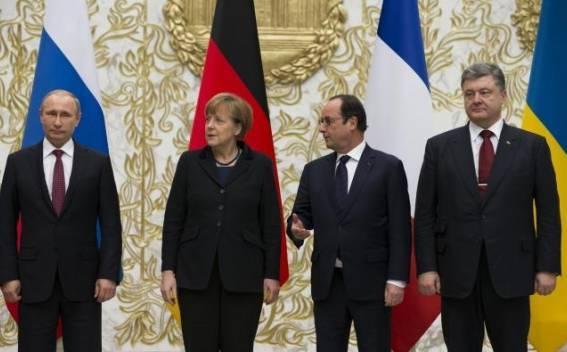 Paris may host new Normandy Quartet summit