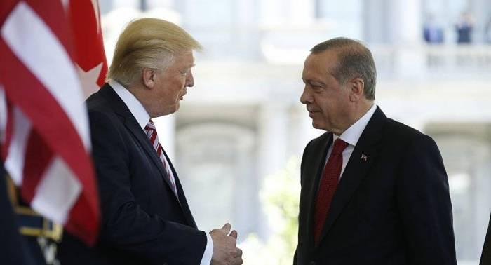 """""""Ərdoğan məni məyus etdi"""" - Tramp"""
