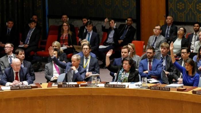 Rusiya BMT-də ABŞ qətnaməsini blokladı