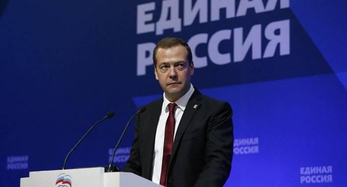 ميدفيديف: روسيا ليست ضد إعادة العلاقات الدبلوماسية مع جورجيا