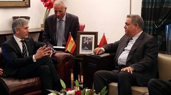 وزيرا داخلية المغرب وإسبانيا يبحثان قضية الهجرة