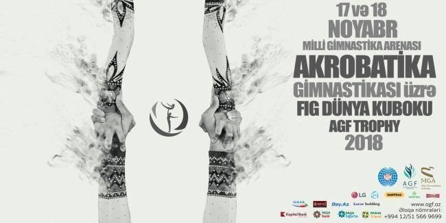 Baku to host FIG Acrobatic Gymnastics World Cup