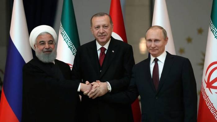 Rusiya, Türkiyə və İran ABŞ-a qarşı birləşir
