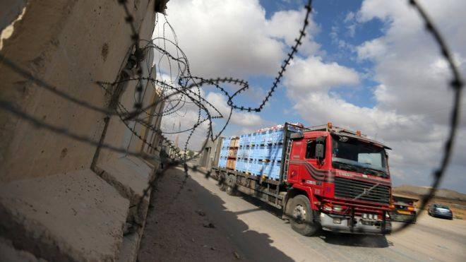 Israel reopens Gaza cargo crossing after calm