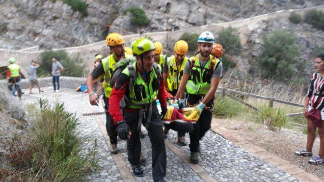Eleven hikers killed in flash flooding in southern Italy