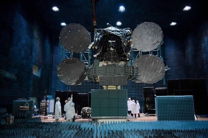 """""""Azerspace-2"""" orbitə buraxılması üçün kosmodroma gətirilib - FOTOLAR"""
