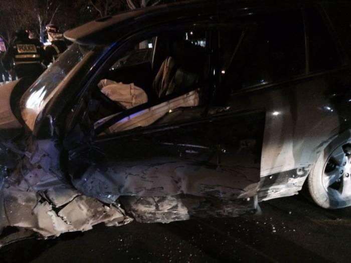 Ermənilər Tbilisidə qəzaya düşdülər - 8 nəfər yaralandı
