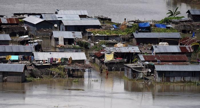 Empeora la situación a causa de las inundaciones en el estado indio de Kerala