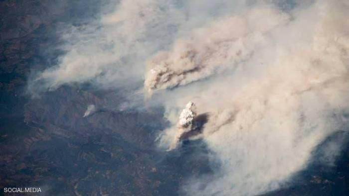 """""""جحيم كاليفورنيا"""" وصل الفضاء الخارجي-صور"""