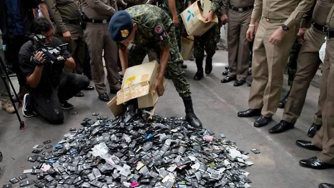 Thailand will Elektroschrott nicht reinlassen