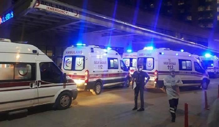 Türkiyədə hərbçilər qəzaya düşdü -2 ölü, 7 yaralı