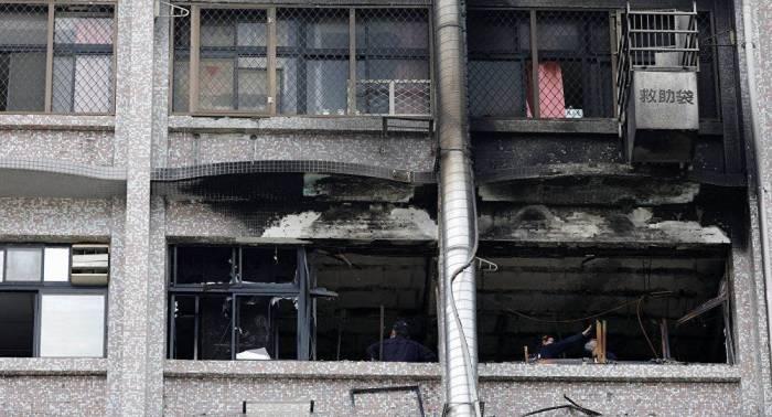 Al menos 9 muertos y 16 heridos por incendio en un hospital de Taiwán
