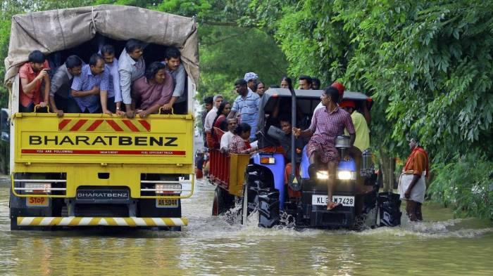 Inde: le bilan des inondations au Kerala passe à 357 morts