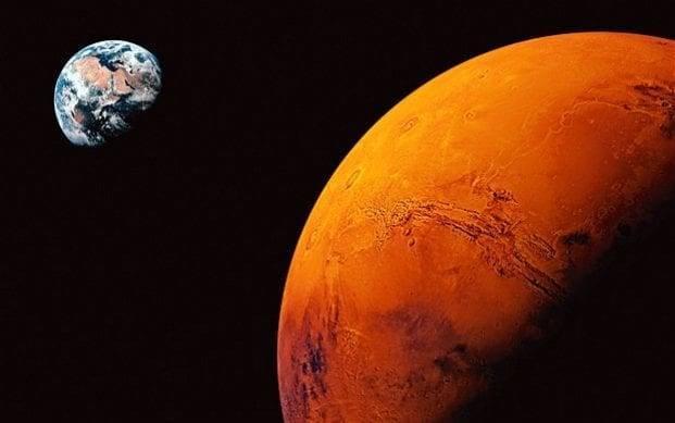 Voyage vers Mars:   combien de temps faut-il pour y aller ?