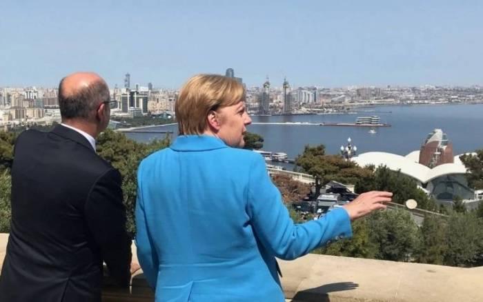 Merkel Bakıya niyə gəlmişdi?
