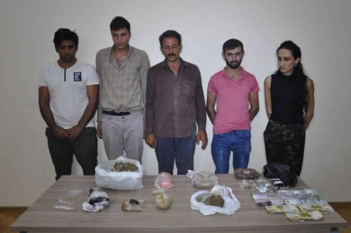 İrandan narkotik gətirən cinayətkar qrup ifşa olundu - FOTOLAR